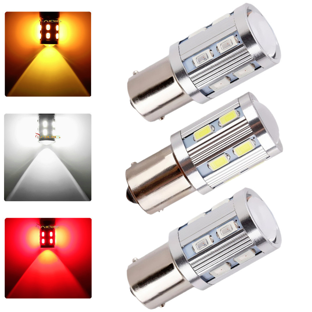 1156 BA15S Bright 360-Degree led Bulbs p21w R5W Light Chips-For car Brake Tail Light Reverse Signal Bulbs Red White Yellow<br><br>Aliexpress