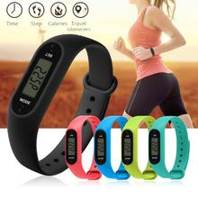 OTOKY Fashion Run Step Watch Bracelet Pedometer electronic Calorie Counter Digital LCD Walking Distance gift dropship June13 P30