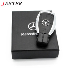 JASTER Car Key Merecedes.Benze USB flash Pen Drive Electronic car keys Memory Stick 4GB 8GB 16GB 32GB 64GB 128GB