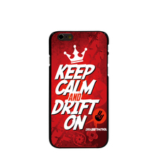 09613 Custom KEEP CALM AND DRIFT ON Hard black Cover cell phone Case for iPhone 4 4S 5 5S 5C 6 6S Plus 6SPlus