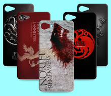 Ice and Fire Cover Relief Shell For Lenovo ZUK Z1 Cool Game of Thrones Phone Cases For Lenovo ZUK Z2 Pro