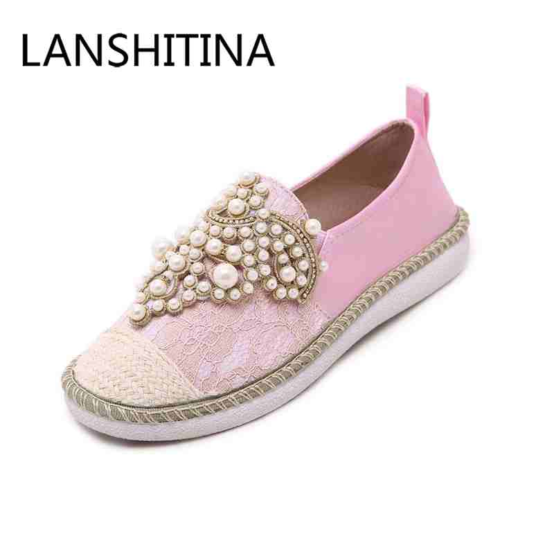 Spring/Autumn women shoes fashion Rhinestone Slip-On round toe flats shallow mouth Mature shoes Mary Janes Casual Loafers shoes<br>