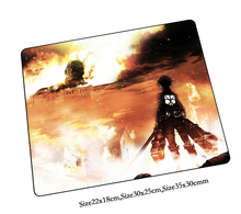 attack on titan mouse pad best pad to mouse notbook computer mousepad Christmas gifts gaming padmouse gamer to desk mouse mats