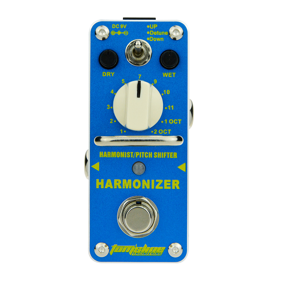 AROMA Tomsline AHAR-3 Harmonizer Harmonist/Pitch Shifter Electric Guitar Effect Pedal Mini Single Effect with True Bypass<br>