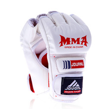 3pcs Artificial leather adult male MMA Muay Thai Gym Punching Bag Half Mitt Train Sparring Kick Boxing Gloves Extension Wrist