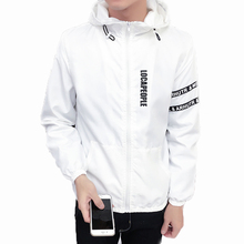 90AFTER S-5XL Summer Sun Men Coat Sunscreen for Men hooded jacket Light Breathable Waterproof Men's Sun Jacket Clothing