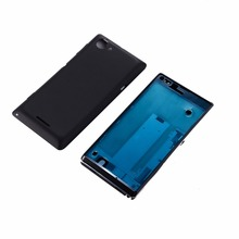 Buy Original Full Housing Cover Case Front Frame Middle Bezel Battery Back Door Sony Xperia L S36h S36 C2104 C2105 for $17.99 in AliExpress store