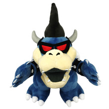 "11"" Super Mario 3D Land Bone Kuba Dragon Dark Bowser Plush Toy Bolster Cartoon Plush Soft Stuffed Dolls Dry Bones Bowser Koopa(China)"
