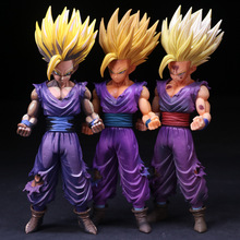 24cm Dragon Ball Z MSP MASTER STARS PIECE THE Son Gohan Super Saiyan 2 PVC Action Figure Collectible Model Toy Christmas Gift