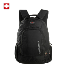 Swisswin 2016 new backpack carrier name brand new laptop case waterproof fashion school bag mochila teenage boy sac a dos