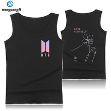 Buy 2018 BTS Love Tank Tops Men/Women Summer Sleeveless Shirt Workout Fans Tank Top Harajuku Casual Print Vest for $6.16 in AliExpress store