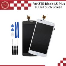 For ZTE Blade L5 Plus Original LCD Display and Touch Screen Assembly Repair Part For Blade L5 Plus Free Shipping+Tools