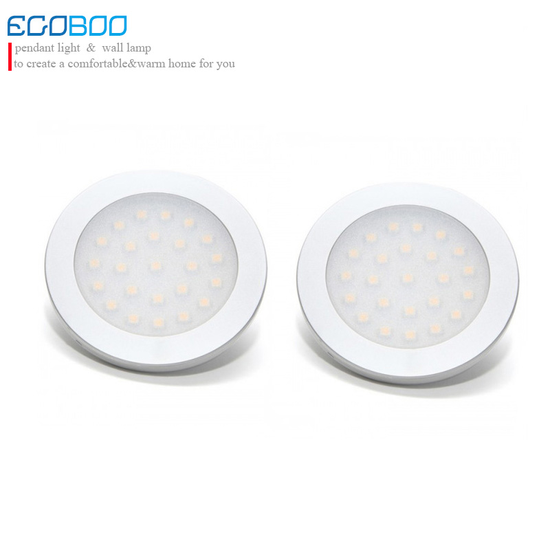 stylish 9.5-30v 2w smd3528 low voltage battery light round flat surface led bulb lamps in boat/caravan (6pcs/lot)