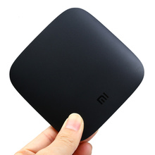 Xiaomi Mi Android TV Box Quad-core Cortex-A53 4K H.265 VP9 Profile-2 Decoding Dual-band WiFi Dolby DTS International Version(China)
