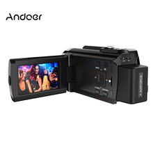 New Andoer HDV-534K 4K 48MP WiFi Digital Video Camera 3inch Capacitive Touchscreen IR Infrared Night Sight 16X Zoom(China)