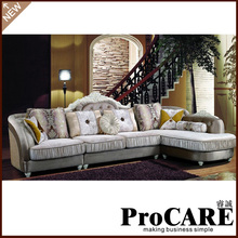 luxury fabric sofa set for living room furniture