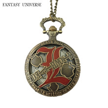 FANTASY UNIVERSE Freeshipping wholesale 20pc a lot pocket watch necklace Dia4.7CM RSD02(China)