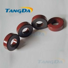 Tangda Iron powder cores T131-2 OD*ID*HT 33.5*16*11.5 mm 16nH/N2 10uo Iron dust core Ferrite Toroid Core Coating Red gray