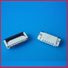 Free Shipping NEW FFC FPC Flexible Flat Cable Connector Socket 1.0mm Pitch 10 pin H=2.0mm 196047-10021