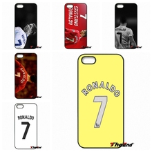 For iPod Touch iPhone 4 4S 5 5S 5C SE 6 6S 7 Plus Samung Galaxy A3 A5 J3 J5 J7 2016 2017 Cristiano ronaldo 7 jersey CR7 Case