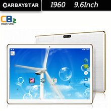 CARBAYSTAR 9.6inch Tablet pc Google Android 4.42 4GB RAM 64GB ROM Tablet Bluetooth GPS Dual Sim Card Tablets Octa Core MT6592