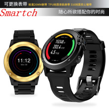 Buy Smartch New H1 Smart Watch IP68 Waterproof 500W Camera Compass 3G GPS BT WIFI Calls 4GB+512MB Clock Android IOS Phone for $90.24 in AliExpress store