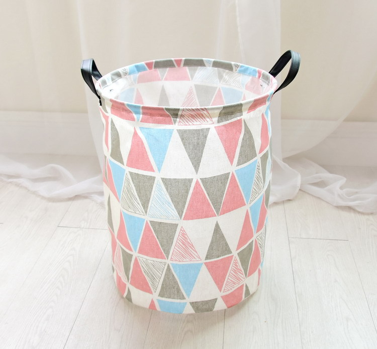 Free shipping Laundry Basket Storage 40*50cm Large Basket For Toy Washing Basket Dirty Clothes Sundries Storage Baskets Box 13