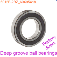60mm Diameter Deep groove ball bearings 6012 E-2RZ 60mmX95mmX18mm Double rubber sealing cover ABEC-1 CNC,Motors,Machinery,AUTO