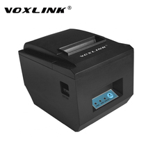 VOXLINK 80MM Auto Cutter WiFi Printer Wirelss WIFI / USB Thermal Receipt Printers 300mm/s POS printer for restaurant bill