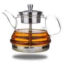 free shipping Induction cooker special pot boil tea dedicated cooker glass pot stainless steel liner kettle Steam tea pot