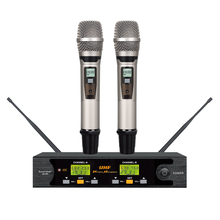SOUNDPATH Professional wireless handheld UHF microphone karaoke microfon system for church hot selling(China)