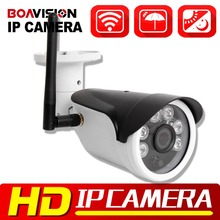 720P 1080P WIFI IP Camera Wireless Outdoor IR 20M Surveillance Mobile P2P View HD 1.0MP 2MP Bullet CCTV Camera IP Onvif XMEYE