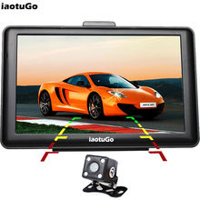 "iaotuGo 7"" 256M 8G HD Capacitive GPS Navigator+Rear Camera Parking Assists,800MHz Car GPS Bluetooth AVIN FM Music Game"