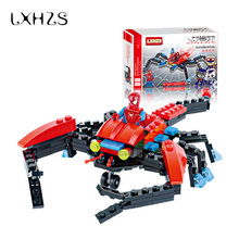 New Arrival Spider Fighter SpiderMan Action Figure Toy Building Blocks Toys Educational Kids Gifts(China)