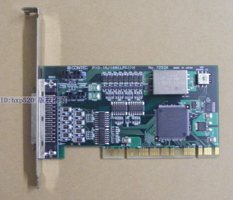CONTEC PIO-16 16B LPCI H No.7253A Data Card PIO-16 16B<br><br>Aliexpress