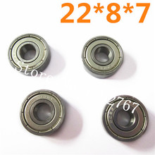 HSP 1/5 Ball Bearing(22*8*7) 4Pcs 50070 Racing Spare Parts For Gas Power RC Hobby 4WD Monster Truck Buggy 94050 Baja(China)