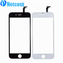 "Black/white Touch Screen Panel Digitizer Glass Lens Sensor Replacement parts for iphone 6 4.7"" mobile phone touch panel"