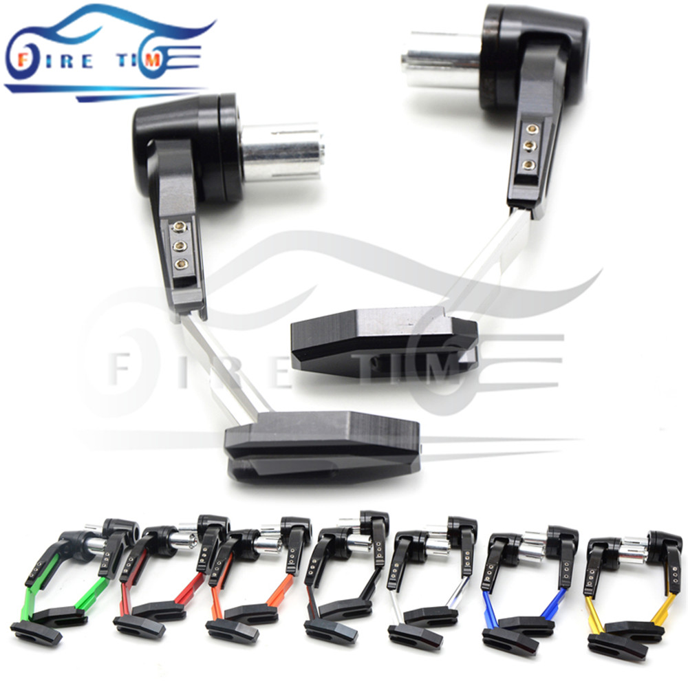 7/8 22mm Motorbike proguard system brake clutch levers protect for Triumph tiger 800 1050 rocket iii street triple 675<br><br>Aliexpress