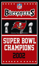 Tampa Bay Buccaneers Super Bowl Champions Man Cave Sports Banner Basketball Flag 3' x 5' Custom Hockey Baseball Football Flag