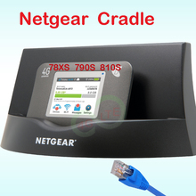 NETGEAR Ethernet and Antenna Charging Cradle Desktop Cradle with ethernet lan port rj45 antenna for AirCard 782s 790s 785s 810s (China)