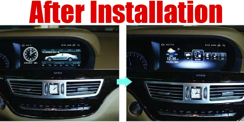Liandlee Car Multimedia Player NAVI For Mercedes Benz S Class W221 S280 S320 S400 S600 S63 2006~2013 Radio Stereo GPS Navigation 1