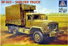 ITALERI 0367 1/35 Scale  M925 Shelter Truck Plastic Model Building Kit