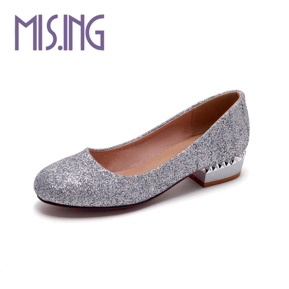 New women shoes fashion Sequined Cloth Dorsay Flats Solid Slip-On Glitter shoes Round Toe Spring/Autumn Concise Casual shoes<br><br>Aliexpress