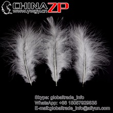 Made in CHINAZP Factory 200pcs/lot Exporting Good Quality Loose Fluffy Turkey Marabou Feathers 15 Colors Available