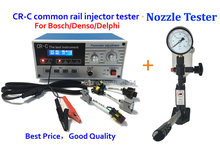 Promotion! combination CR-C multi function diesel common rail injector tester tool and S60H Nozzle Validator
