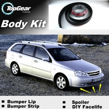 For Chevrolet Estate J200 Bumper Lip Lips / Top Gear Shop Spoiler For Car Tuning / TOPGEAR Recommend Body Kit + Strip(China)