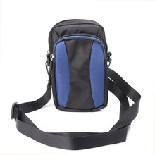 New Double Zipper Sports Wallet Mobile Phone Bag Outdoor Cover Case for Multi Phone Model Pouch With Hand/Shoulder Strap(China)