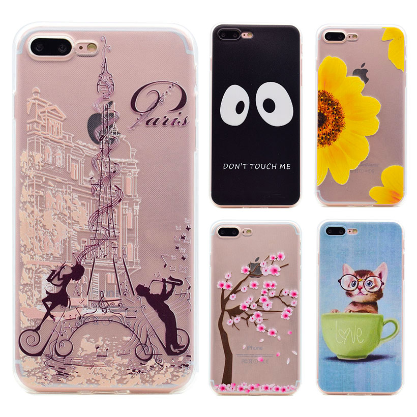 Phone Cover For Apple iPhone5 5S 6 6S 6 Plus 6S Plus 7 7 Plus iPod touch 5 Cases Covers shell skin housing hood Soft TPU Silicon(China (Mainland))