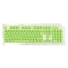 For Cherry Translucent 104 Key Caps Backlit Keyboard Switches PBT Backight Mechanical Gaming Keyboard Keycap for Filco Green