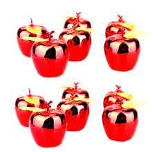 Buy Fashion Christmas Decoration 12Pcs Apples Christmas Tree Hanging Ornament Home New Year Party Events Fruit Pendant Red Golden for $1.68 in AliExpress store
